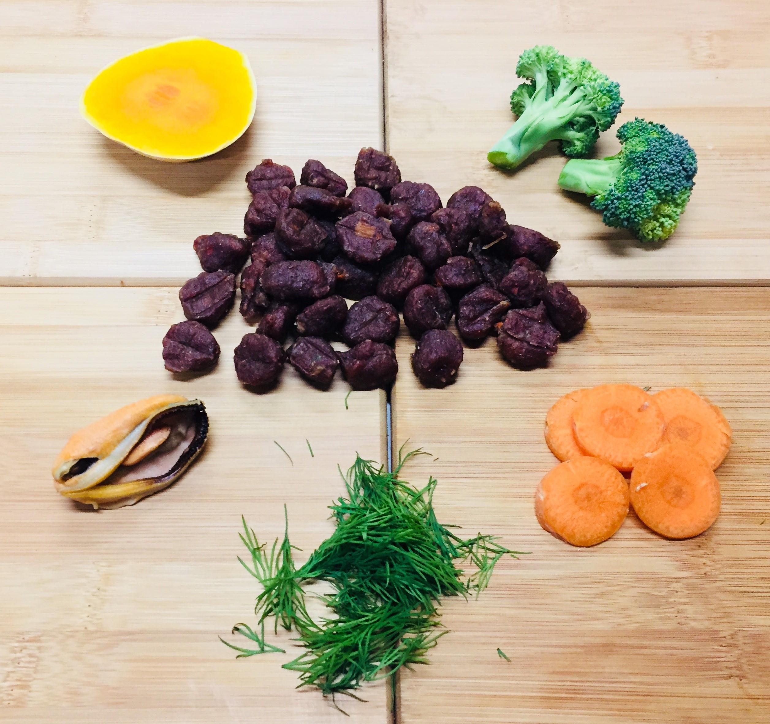 Turkey With Pumpkin, Carrots, Broccoli, Green Lipped Mussel & Fennel – 12 x 100g